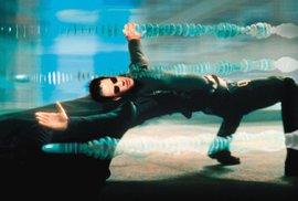 Keanu Reeves jako Neo ve snímku Matrix.