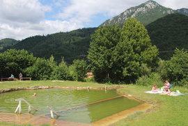 Zlá voda: Na cestě do Tater si dopřejte úžasný relax v přírodním jezírku plném …