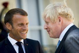 Macron Johnsonovi neustoupí: Irská pojistka je nepostradatelná, chrání jednotný trh…