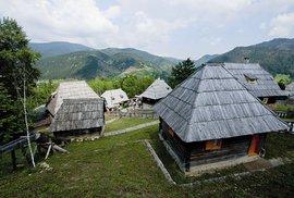 Srbská vesnička Drvengrad