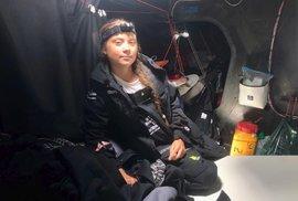 Plavba šestnáctileté švédské aktivistky Grety Thunbergové se blíží ke konci, (28.08.2019).