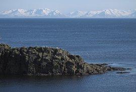 Islandský ostrůvek Grímsey