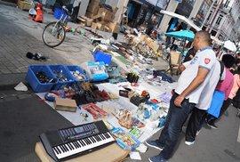 Největší bleší trh v Evropě: Dva miliony lidí a nákupní šílenství