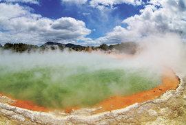 Nový Zéland, turistický ráj na druhé straně planety: Horké vody pod povrchem