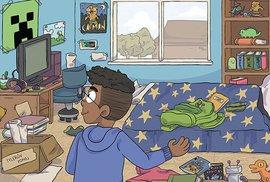 Minecraft komiks: První kniha příběhů – je určený dětem, protože děti jsou cílová skupina Minecraftu