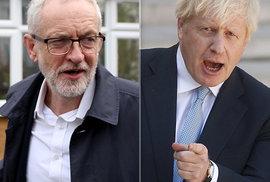 Johnson přirovnal Corbyna ke Stalinovi, ostrá volební kampaň ve Velké Británii začala