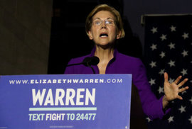 """""""Pocahontas"""" Elizabeth Warrenová. Ikona americké levice chce porazit Trumpa a zdanit majetek bohatým"""