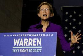 """""""Pocahontas"""" Elizabeth Warrenová. Ikona americké levice chce porazit Trumpa a zdanit…"""