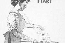 Tyfová Mary na plakátu.