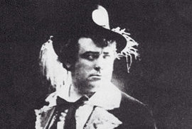 """S titulní postavou loupežného """"bratra ďábla"""" z Auberovy komické opery Fra Diavolo měl civilní, Burian společnou přinejmenším onu """"hrůůůůzu"""", která jímala divadelníky z jeho životosprávy"""