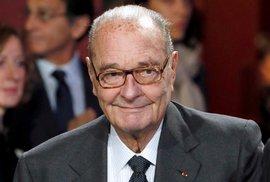 """Zemřel Jacques Chirac, bývalý francouzský prezident, přezdívaný jako """"politický buldozer"""""""