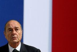Dlouholetý francouzský prezident Jaques Chirac zemřel, bylo mu 86 let.