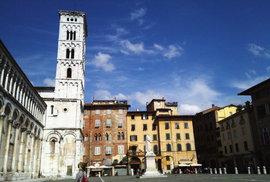Italské město Lucca.