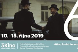 6. ročník festivalu středoevropského filmu 3Kino.