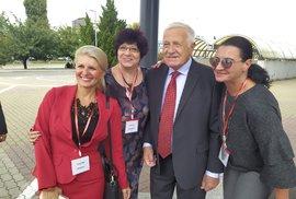 Bývalý prezident Václav Klaus na ustavujícím sněmu hnutí Trikolóra v Brně