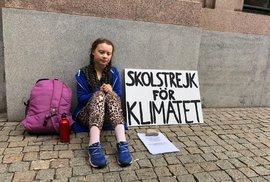 Kde se vzala Greta? Jak stoupal věhlas mladé aktivistky odhalují i zmínky ve švédských médiích