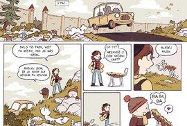 Hilda nejprve uchvátila čtenářky a čtenáře komiksů a poté vznikly úspěšný animovaný seriál od Netflixu i samostatná knižní série.