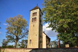 Kostel svatého Jakuba Staršího v obci Církvice