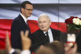 Volby v Polsku ovládla vládnoucí strana Právo a spravedlnost.