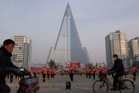 Místo hotelu nástroj propagandy: V KLDR stojí nejvyšší prázdná budova na světě, podívejte se