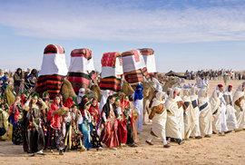 Oáza Dúz: Tuniskou bránu do největší pouště světa každoročně roztančí Mezinárodní…