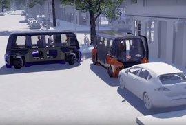Minibusy jezdící i do strany: Vozidla pohybující se i bokem mají posunout dál městskou hromadnou dopravu