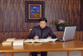 Japonský nový císař Naruhito, snímek z roku 2013.