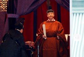 Japonsko má nového císaře: Naruhito byl oficiálně uveden na trůn, obřadu se…
