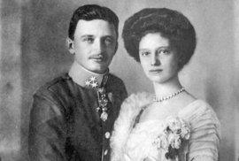 Karel I. a Zita.