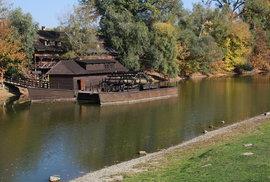 Jak se mlelo u Dunaje. Prohlédněte si poslední plovoucí mlýn na Slovensku