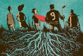 Kanadská kniha desetiletí: hokej, beznaděj, prostě komiks jedna báseň