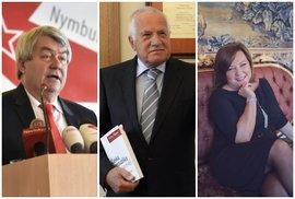 Bratrská pomoc wehrmachtu, Václav Klaus starší je otcem revoluce a ministryně, která se ráda fotí