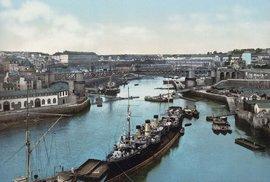 Přístav v Brestu