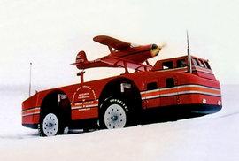 Gigantický Snow Cruiser: Loď na kolech si měla poradit s nástrahami drsné…