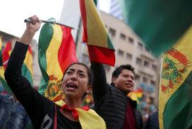 Rezignace bolívijského prezidenta Moralese