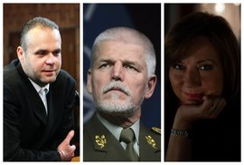 Prezidentská kampaň zahájena: Krejčířovi milost, generál je pavlačová drbna, černá…