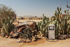 Solitaire je překvapivou zastávkou při cestě do pouště Namib