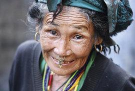 Přátelské tváře odlehlého východního Nepálu