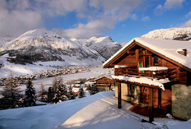 Italské město a lyžařské středisko Bormio