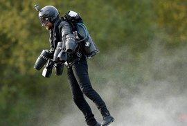 Nejrychlejší let v obleku s tryskami: Britský vynálezce dosavadní světový rekord…