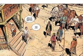 Násilí je v Bouncerovi zobrazované na poměry westernového komiksu velmi drsně.