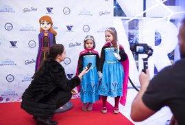 Premiéra Ledového království 2 proběhla exkluzivně v multikině Centra Černý Most