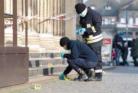 Policie vyšetřuje krádež v drážďanské klenotnici Grünes Gewölbe, (25.11.2019).