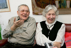2013 S manželkou Věrou Tichánkovou (†93) byl nejšťastnější.