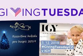 Giving Tuesday oslavuje lidskost a spojení těch, kterým nejsou potřeby ostatních lhostejné