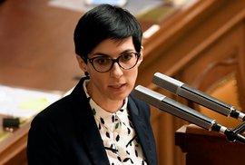 Jednání o Babišově auditu ve Sněmovně: Předsedkyně TOP 09 Markéta Pekarová Adamová (5. 12. 2019)
