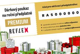 Potěšte své blízké ideálním dárkem na Vánoce. Darujte jim zvýhodněné předplatné…