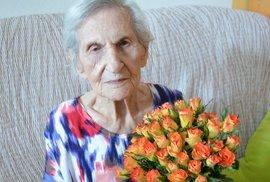 Ve věku 108 let zemřela nejstarší Češka. Recept na dlouhověkost byl překvapivě jednoduchý