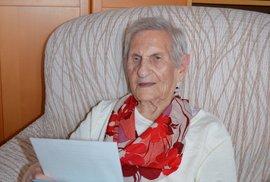 Nejstarší Češka Magdalena Kytnerová byla poctivou voličkou