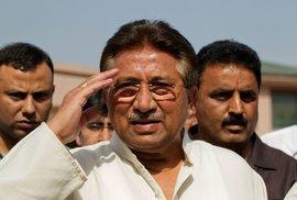 Pákistánský exdiktátor Parvíz Mušaraf.